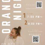 ORANGE NIGHT〜MK's monthly live